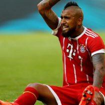 Alerta máxima en la selección: Arturo Vidal es baja en el Bayern Munich por fatiga muscular