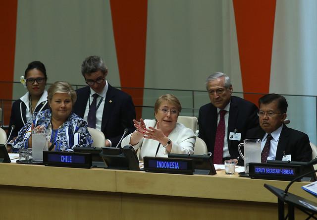 Bachelet reafirma ante la ONU que