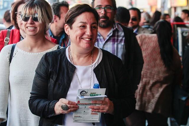 Beatriz Sánchez presenta el Plebiscito Ciudadano del Frente Amplio