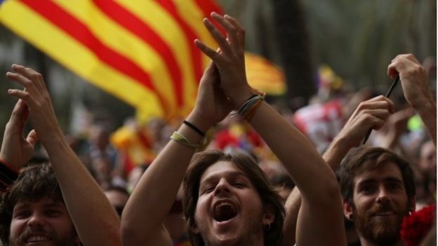 Los españoles (no catalanes) que sí quieren un referendo de independencia en Cataluña