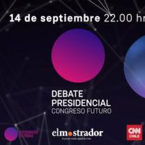 Invitación El Mostrador: Debate Presidencial Congreso Futuro