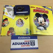 Aduanas descubre cocaína dentro de cuentos infantiles que tenían como destino Europa y Oceanía