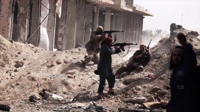 Al menos 118 muertos en contraataque del EI contra fuerzas pro Asad en Siria