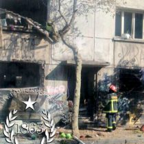 [VIDEO] Dos lesionados deja fuerte explosión por acumulación de gas en edificio en Recoleta