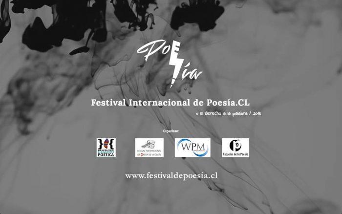 """Festival Internacional de Poesía Chile 2018: """"Vas a ver cómo las personas sienten el lenguaje, escribir y ser parte de la historia"""""""