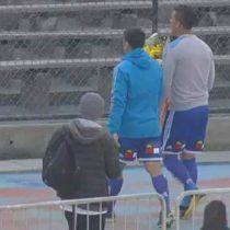 [VIDEO] David Pizarro e Isaac Díaz homenajearon a los detenidos desaparecidos en el Estadio Nacional
