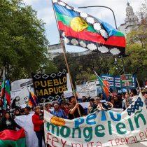 [VIDEO] Marchan en Argentina para pedir prórroga a ley que impide desalojar indígenas