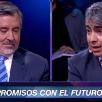 [VIDEO] El tenso encontrón entre Marco Enríquez-Ominami y Guillier por entrevista en donde dijo que votaría por Piñera