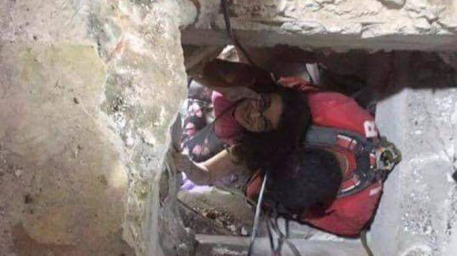 """""""Hay momentos de miedo en los que el hambre y la sed desaparecen"""": Lucía Zamora, la mujer que pasó 36 horas bajo escombros"""