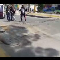 [VIDEO] El sorprendente registro que muestra cómo se levanta el asfalto en México luego del terremoto