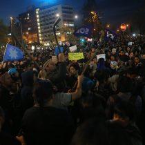 [FOTOS] Decenas de personas protestaron en Plaza Italia por mapuches detenidos en huelga de hambre