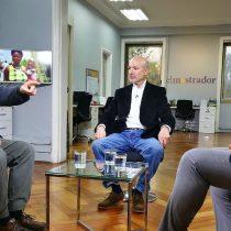 El acalorado debate entre Manuel Riesco e Iván Weissman sobre el sistema de pensiones