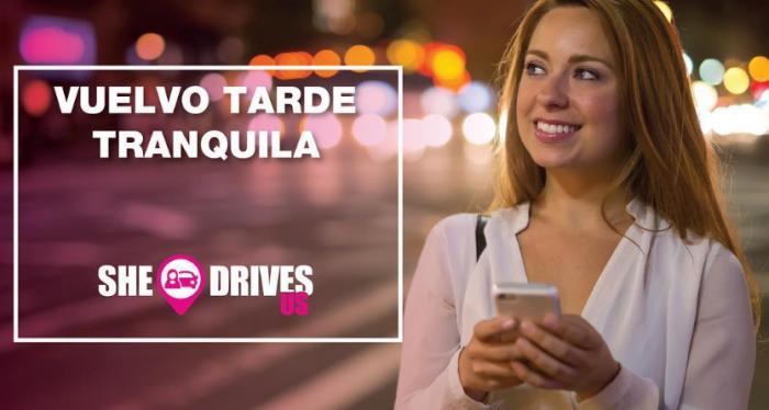 La app de transporte exclusiva para mujeres — She Drives Us
