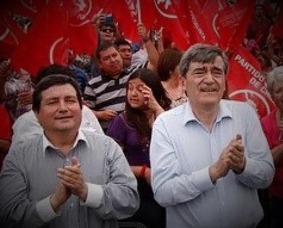 PS suspende militancia a alcalde Aguilera y expulsa a otro militante