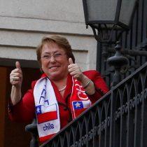 Bachelet alentará a la Roja en Sao Paulo