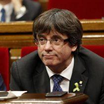 Fiscalía española se querella por rebelión y sedición en contra del líder separatista catalán