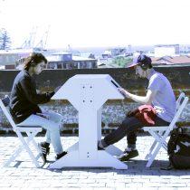Estación interactiva de arte sonoro en Museo de la Solidaridad Salvador Allende