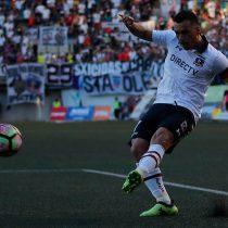 "Se pasó de roscas: Esteban Paredes realizó agresiva falta a seleccionado chileno sub 23 en la ""Noche Alba"""