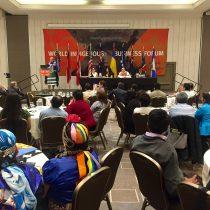 Inauguran en Santiago el Octavo Foro Mundial Indígena de Negocios