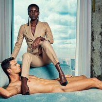 Hombres desnudos, mujeres vestidas: la campaña que da vuelta el machismo de la publicidad