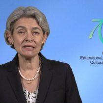 Directora de la Unesco lamenta retiro de EEUU :