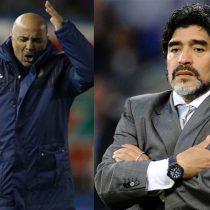 Maradona dispara otra vez contra Sampaoli: