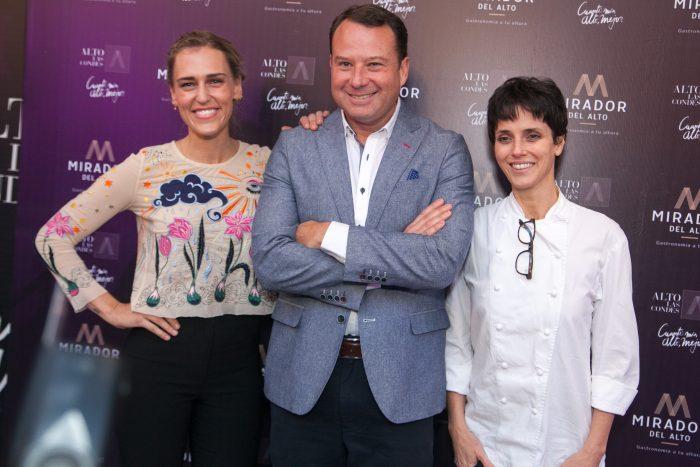 Destacada chef brasileña Helena Rizzo fue parte del lanzamiento del renovado polo gastronómico en Mirador del Alto 6
