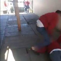 [VIDEO] Inician sumario interno por brutal agresión a escolar registrada en un colegio de Constitución