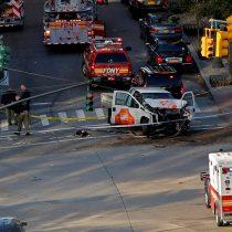 Macron envía mensaje de solidaridad a EE.UU por el atentado en Nueva York
