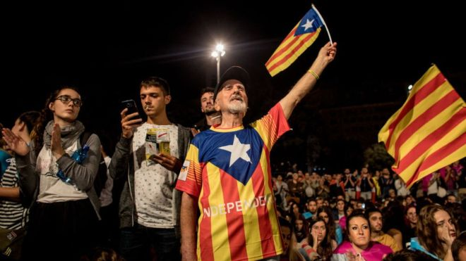 España tiene un serio problema (Cataluña)