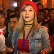 [VIDEO] Reportera peruana es manoseada en vivo por hinchas incaicos tras empate ante Argentina