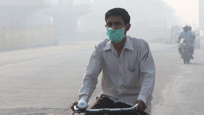 El mapa y los gráficos que muestran dónde muere más gente por la contaminación