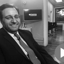 Óscar Hasbún, el ejecutivo del grupo Luksic que sacó a flote a Sudamericana de Vapores, explica por qué siguen apostando a esa industria