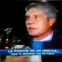 [VIDEO] Chile bipolar: hincha cambia de parecer sobre La Roja en segundos luego del desempate ante la selección de Ecuador