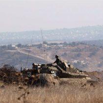 Israel ataca posición siria en respuesta a proyectil caído en Altos del Golán