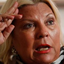 La peculiar Lilita Carrió, la gran ganadora de las legislativas en Argentina