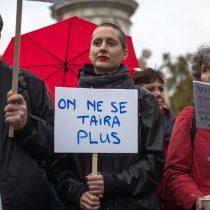 [VIDEO] Manifestaciones en Francia para denunciar los abusos sexuales a las mujeres