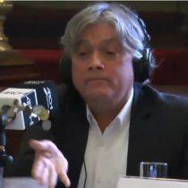 [VIDEO] El tenso momento en que Navarro lanza monedas a Piñera para