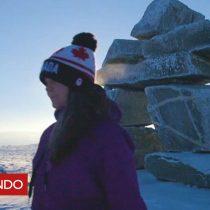 """[VIDEO] Maggie MacDonnell, la canadiense nombrada """"mejor maestra en el mundo"""" que enseña en el Ártico"""