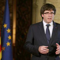 Puigdemont analiza explicar en el Senado su rechazo a intervención del gobierno español en Cataluña