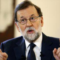 Rajoy exige a Puigdemont abandonar la independencia de Cataluña para evitar