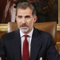 Discurso del rey de España sobre el referéndum de Cataluña muestra la gravedad de la crisis
