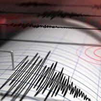 Sismo de mediana intensidad se sintió en las regiones de Valparaíso, O'Higgins y Metropolitana