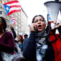 [VIDEO] Protestan cerca de la Torre Trump por la gestión de la crisis en Puerto Rico