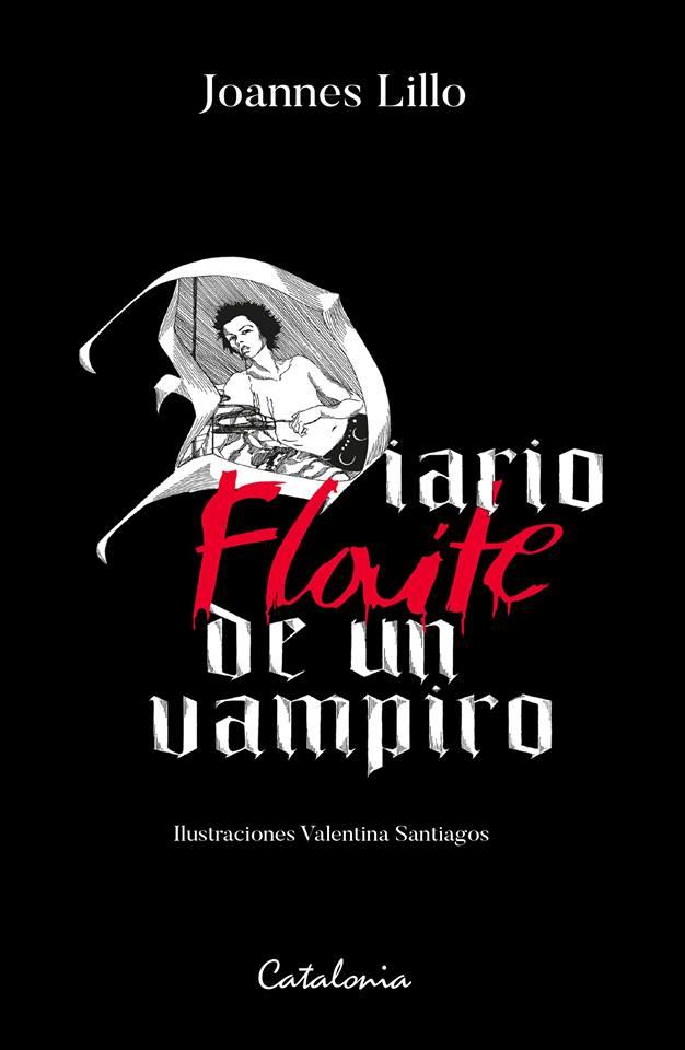 """Libro """"Diario flaite de un vampiro"""": """"Es un libro para"""