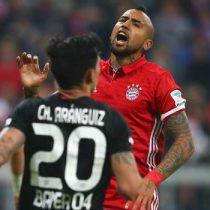 [VIDEOS] Arturo Vidal y Charles Aránguiz son candidatos a quedarse con el mejor gol de septiembre en la Bundesliga