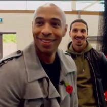 [VIDEO] La genial respuesta de Zlatan Ibrahimovic a Thierry Henry sobre el muro de leyendas del Manchester United