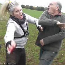 [VIDEO] La brutal golpiza a la que se vio expuesta una activista defensora de animales