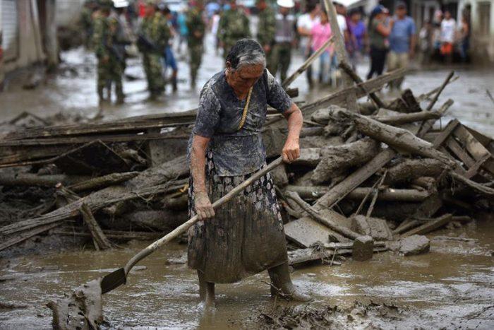Colombia: confirman cuatro muertos, 18 desaparecidos y cientos de damnificados por aluvión en Corinto