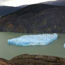 Por qué intriga a los científicos el inusual iceberg gigante que se desprendió del glaciar Grey en Chile